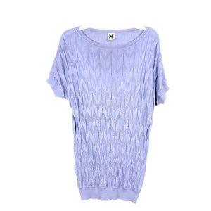 MISSONI Purple sz. S 40 Classic Short Sweater